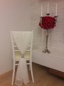 prehozy na stoličku + strieborný štrás